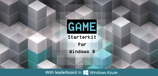 Windows 8 game starter kit
