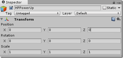 how to add text gameobject unity