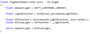 Unity 5 Shader Programming #2: Diffuse Light | Modern art